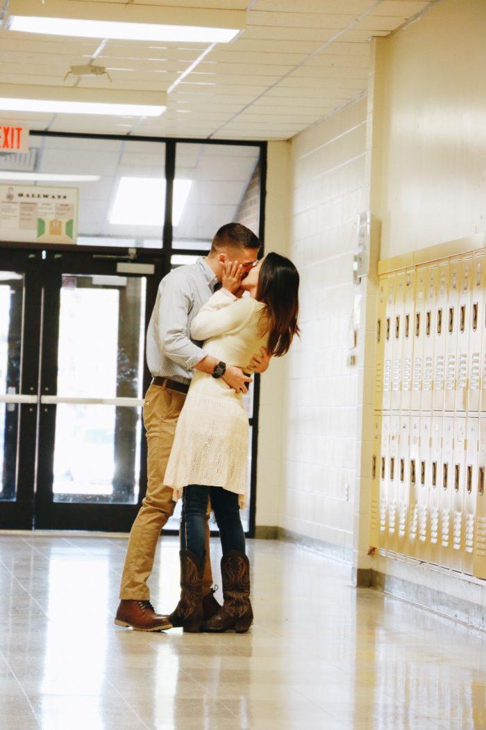 Marriage Proposal Ideas in Cedar Creek Middle School