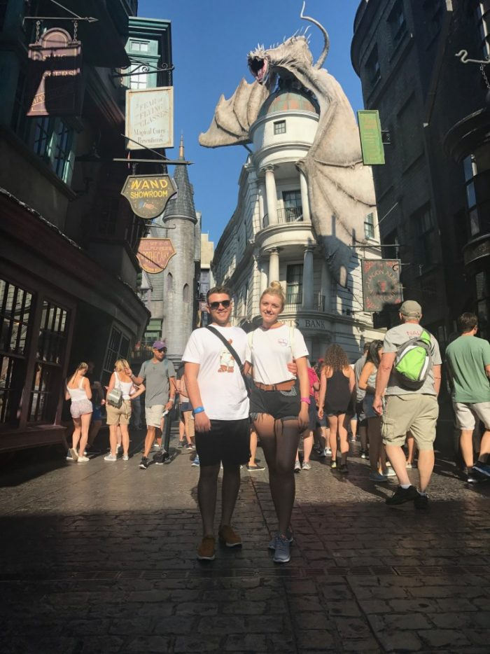 Wedding Proposal Ideas in Harry Potter World Orlando