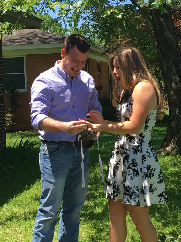 Wedding Proposal Ideas in At our home in Conway, Arkansas
