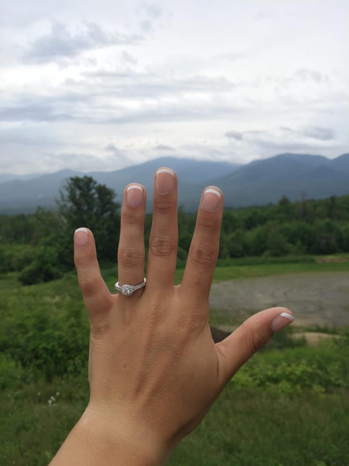 Kayla and Josh's Engagement in White Mountains, New Hampsire
