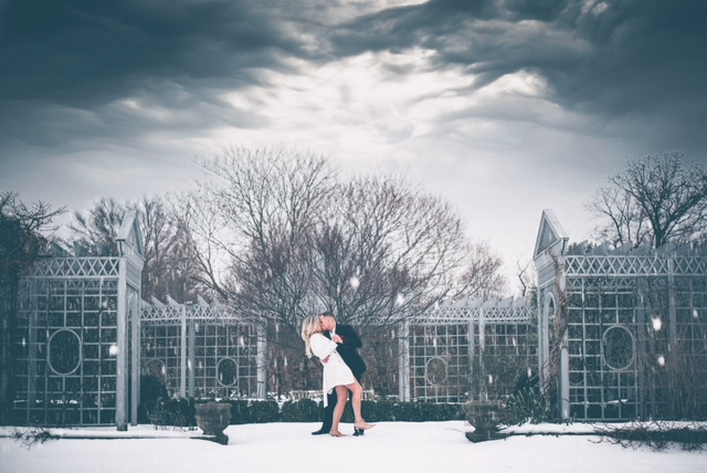 Wedding Proposal Ideas in Snug Harbor Botanical Garden