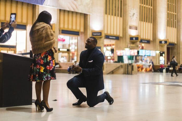 Where to Propose in Philadelphia 30th Street Station