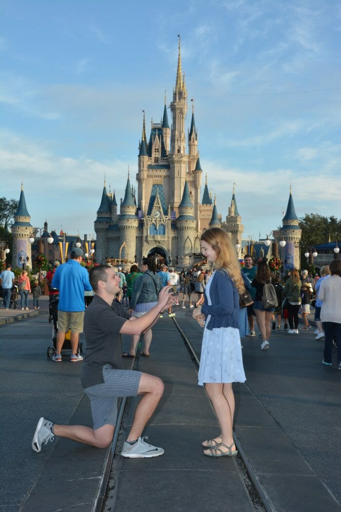 Richard's Proposal in Walt Disney World
