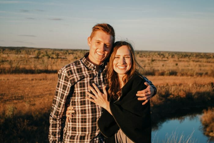 Sarah Neal's Proposal in Canadian, Texas