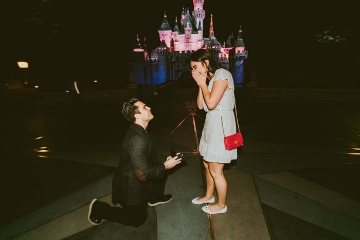 Wedding Proposal Ideas in Disneyland