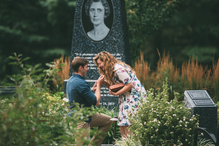 Image 13 of 16 Marriage Proposals Inspired by Lost Loved Ones