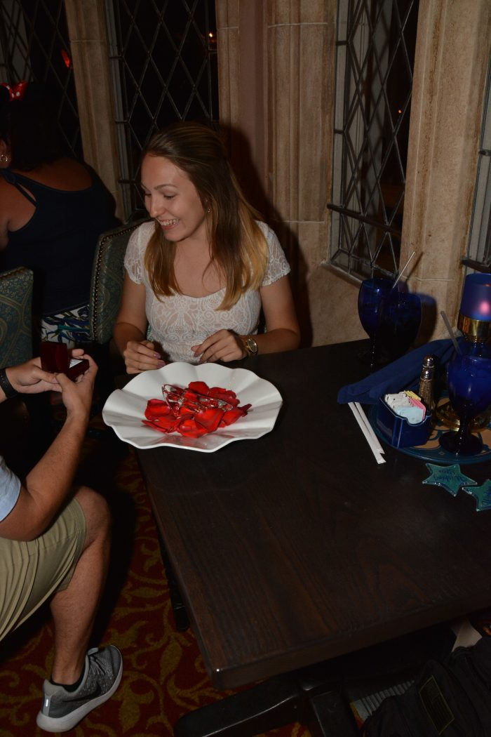 Where to Propose in Cinderella's Castle at Walt Disney World