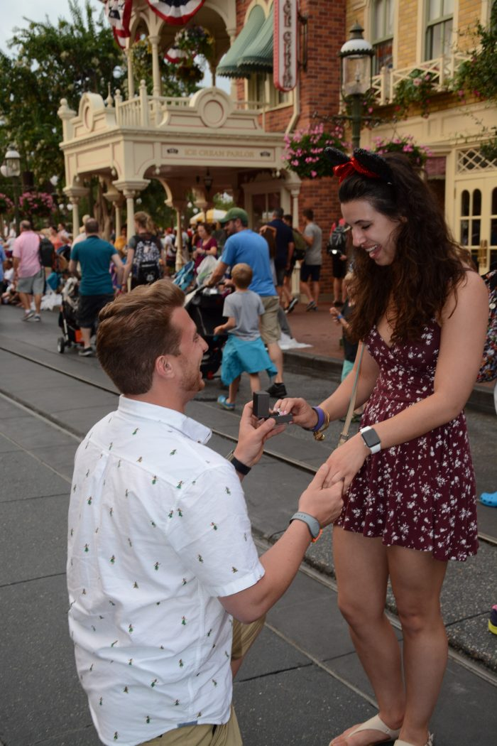 Where to Propose in Cinderella Castle Walt Disney World