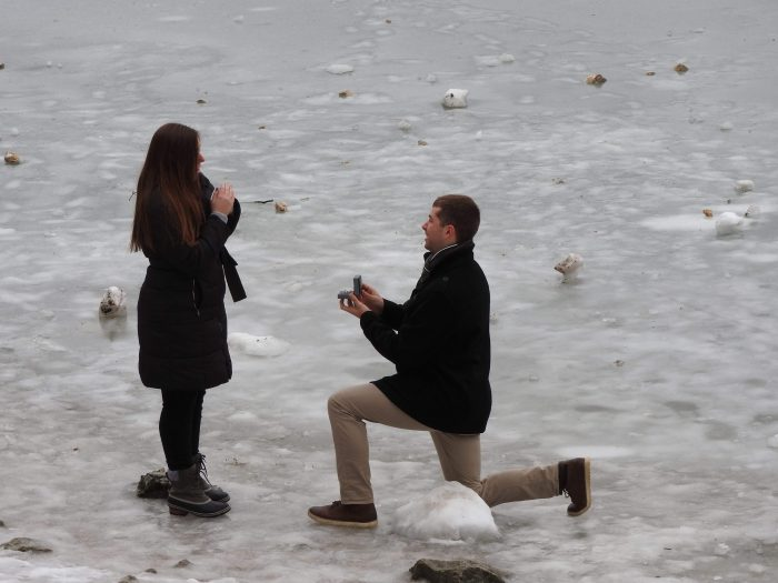 Hailey and Nick's Engagement in On Lake Eibsee in Garmisch, Germany