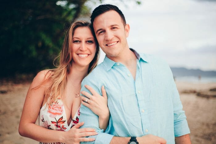 Chelsea and Tony's Engagement in Costa Rica