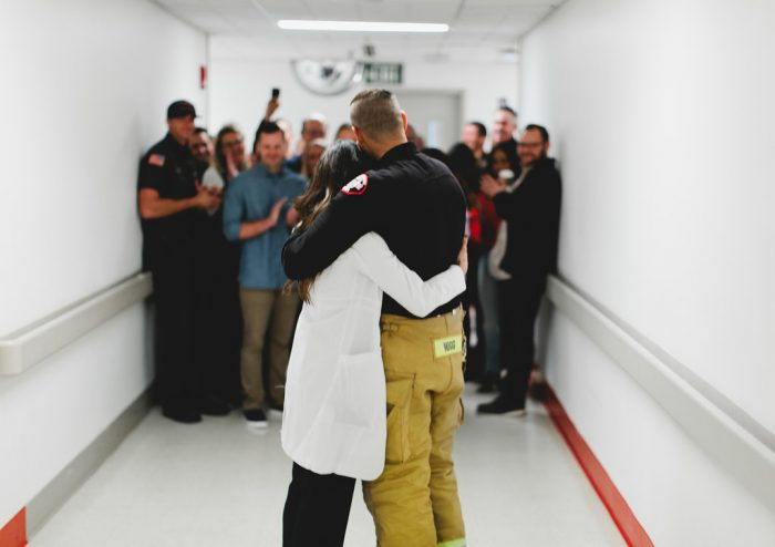 Cassie and Chris's Engagement in Emergency Department