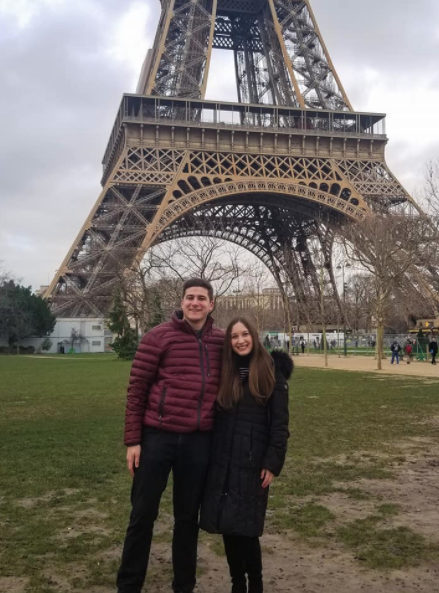 Elyse's Proposal in Paris, France