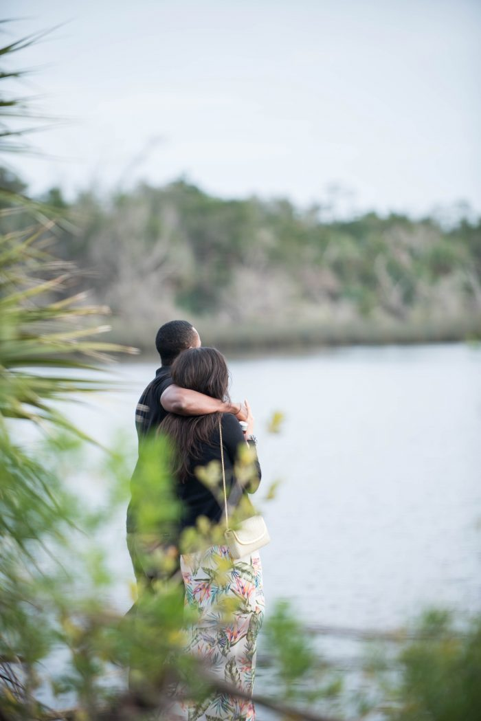 Jenna and Stephen's Engagement in Tomoka State Park in Ormond Beach, Florida