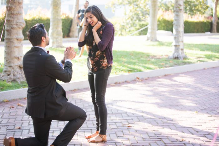 Shilpi and Chaitanya's Engagement in UC Berkeley, CA