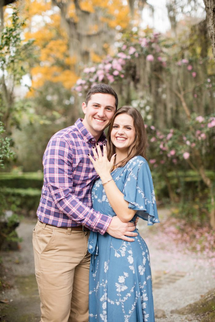 Wedding Proposal Ideas in Magnolia Plantation & Gardens - Charleston, SC