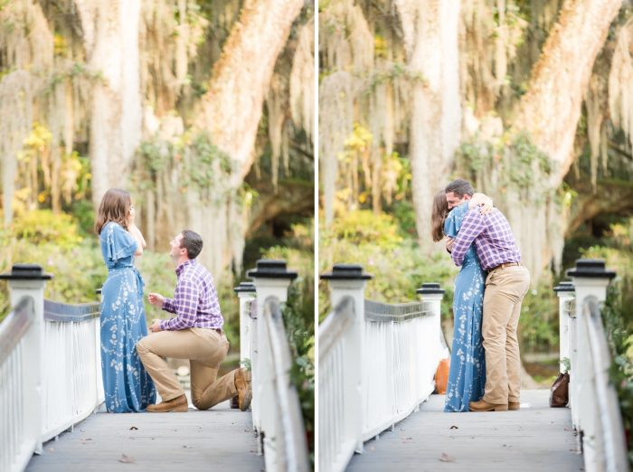 Engagement Proposal Ideas in Magnolia Plantation & Gardens - Charleston, SC