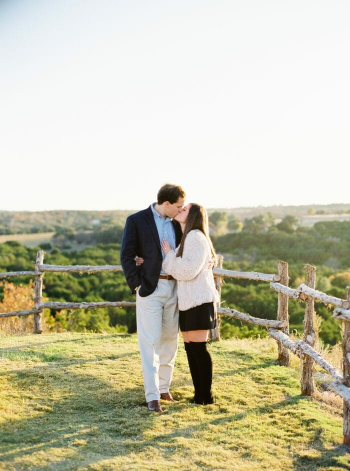 Emma and Austin's Engagement in Dove Ridge Vineyard