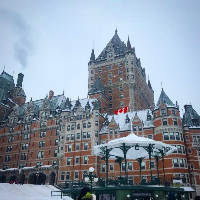 Engagement Proposal Ideas in The Chateau Frontenac in Quebec City, Canada