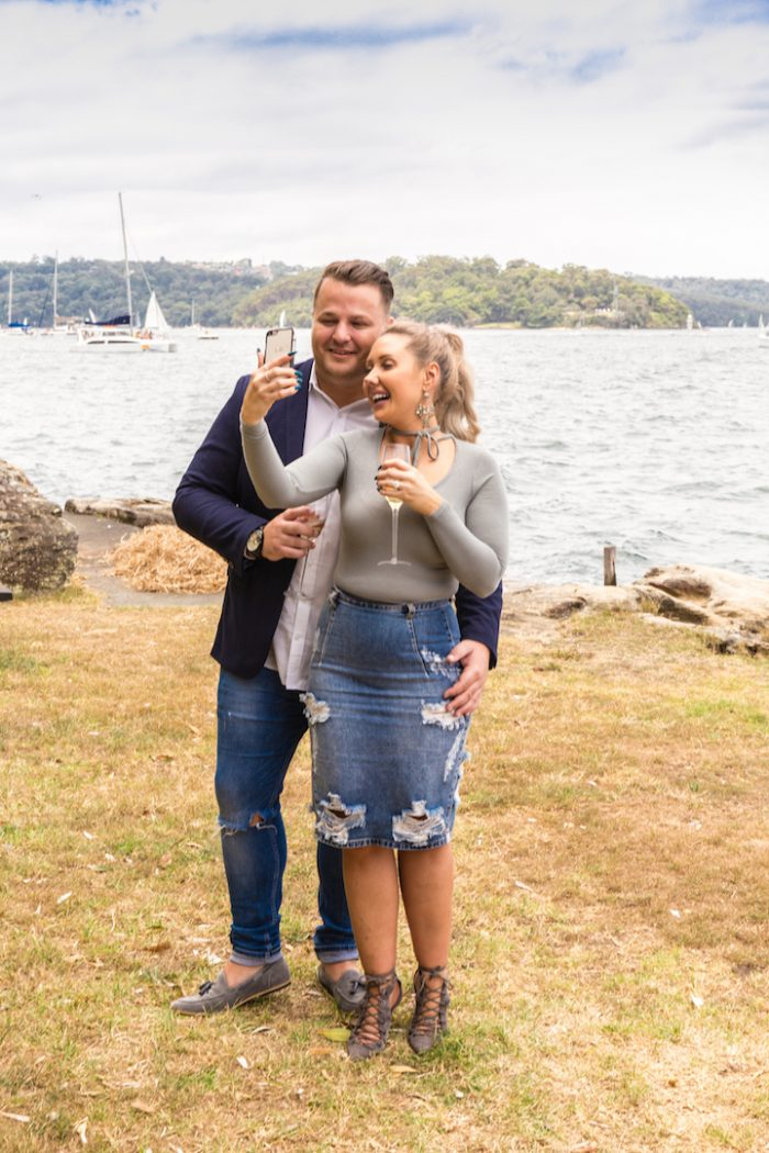 Leigh's Proposal in Sydney Australia