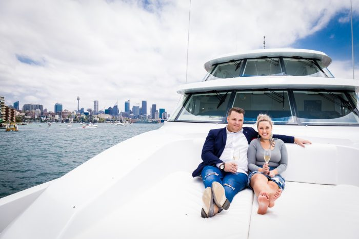 Leigh and Daneil's Engagement in Sydney Australia