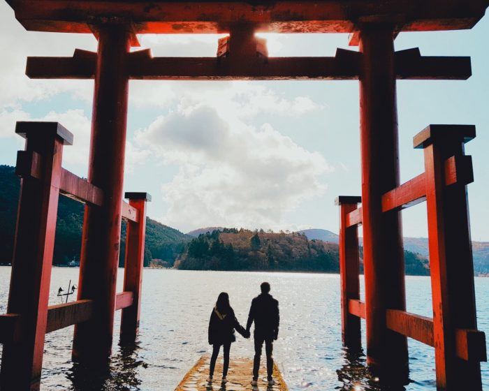 Marriage Proposal Ideas in Hakone, Japan