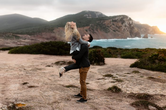 Anke and Ernst's Engagement in Alghero, Sardinia