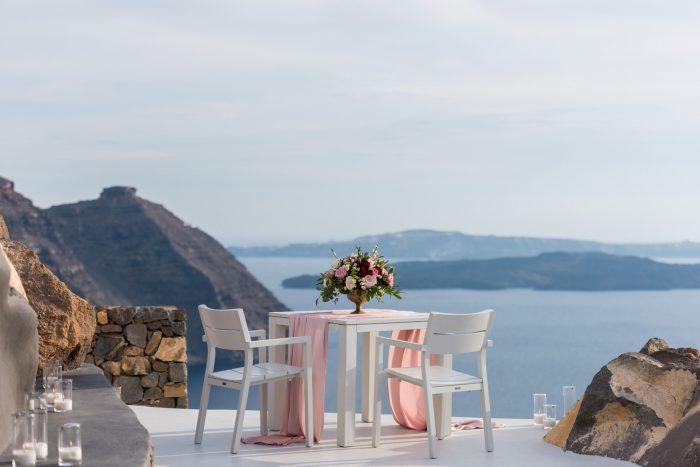 Kenny's Proposal in Aenaon Villas, Santorini