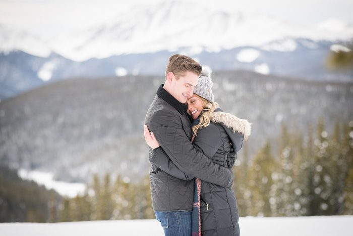 Cara and Eric's Engagement in Keystone, CO