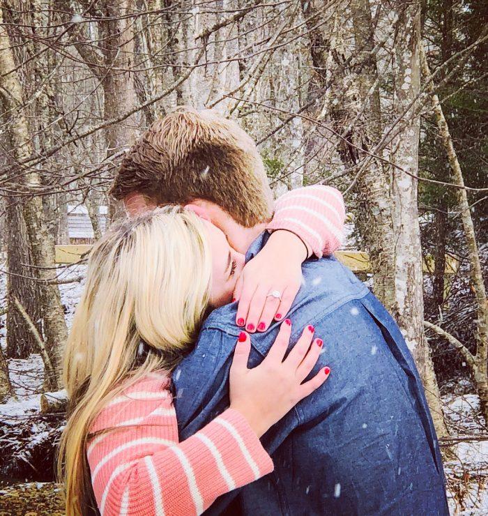 Logan's Proposal in Boone North Carolina