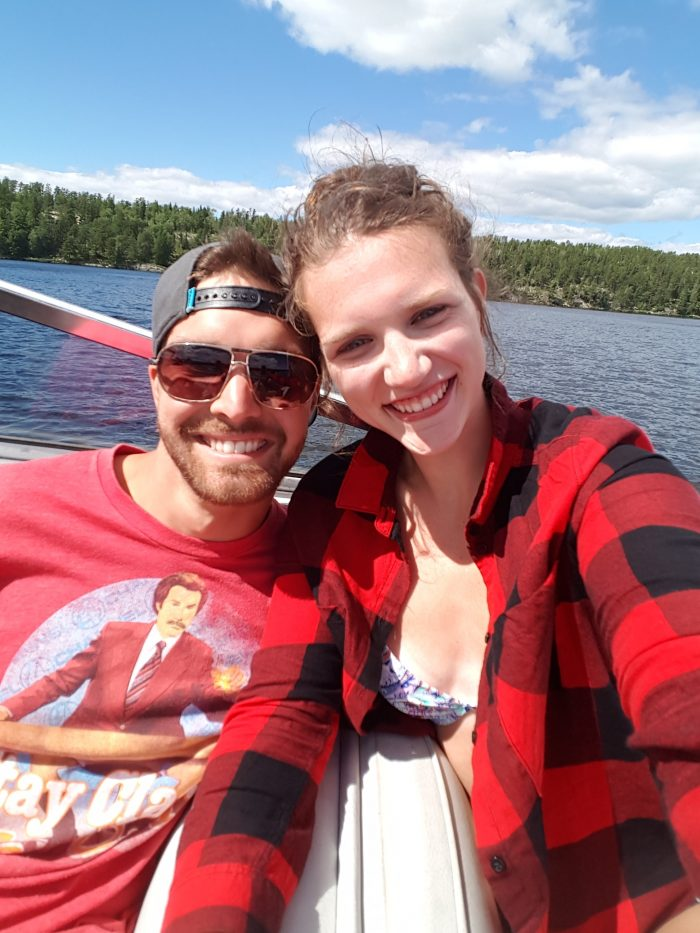 Ashley's Proposal in Lake Louise, Alberta CA