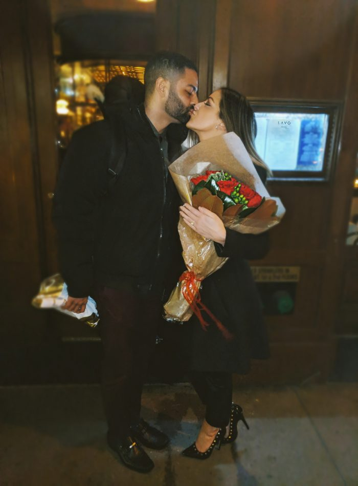 Wedding Proposal Ideas in LAVO NYC