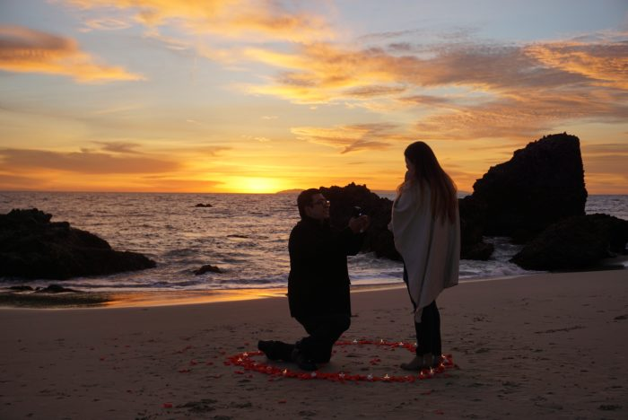 Engagement Proposal Ideas in Laguna Beach