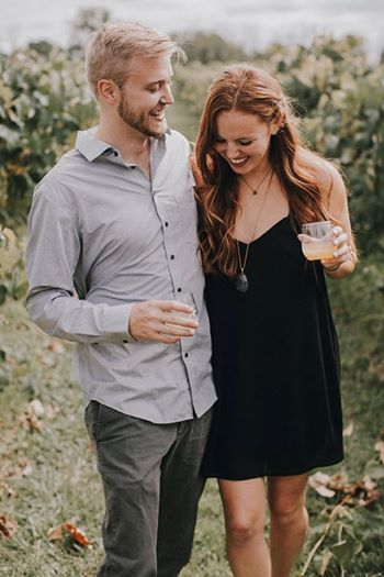 Wedding Proposal Ideas in Peace Water Winery - Carmel, Indiana