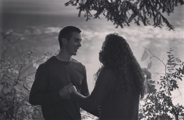 Kayla's Proposal in Mill Creek Park, Youngstown, Ohio