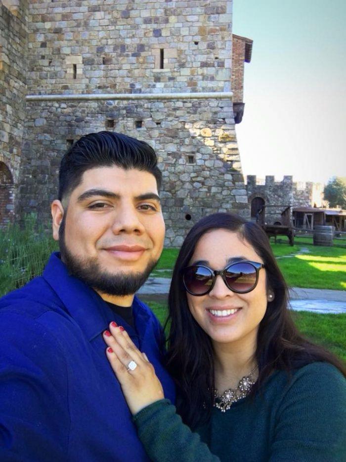 Denia and Noe's Engagement in Castello dI Amorosa