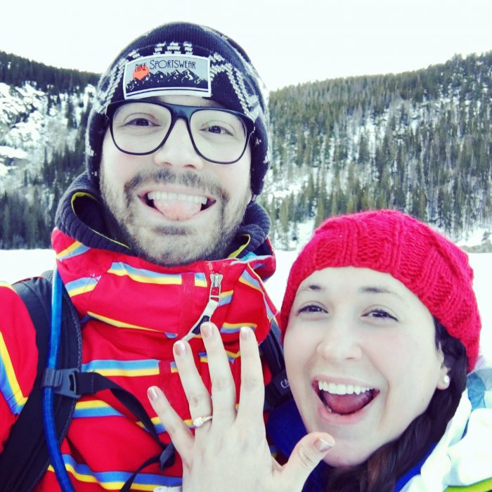 Wedding Proposal Ideas in Flattop Mountain, Rocky Mountain National Park