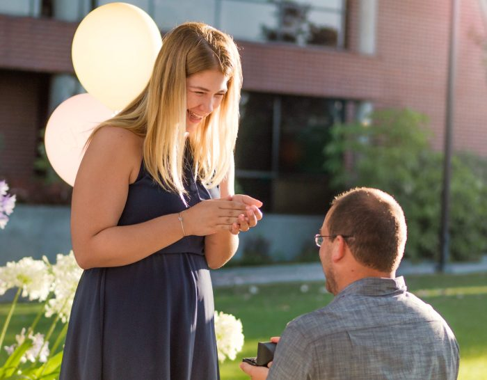 Marriage Proposal Ideas in At work—Biola University