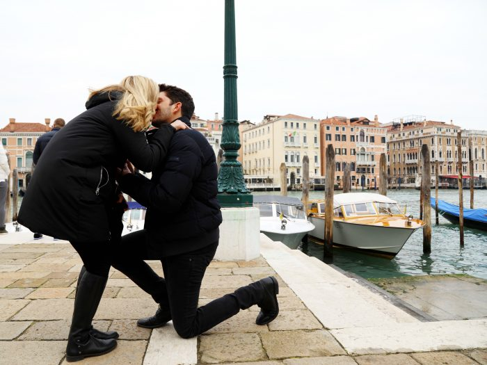 Chelsea's Proposal in Venice, Italy