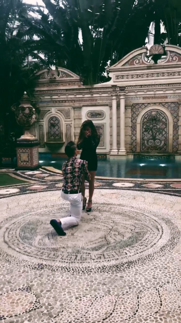 Wedding Proposal Ideas in Versace mansion, Miami Florida