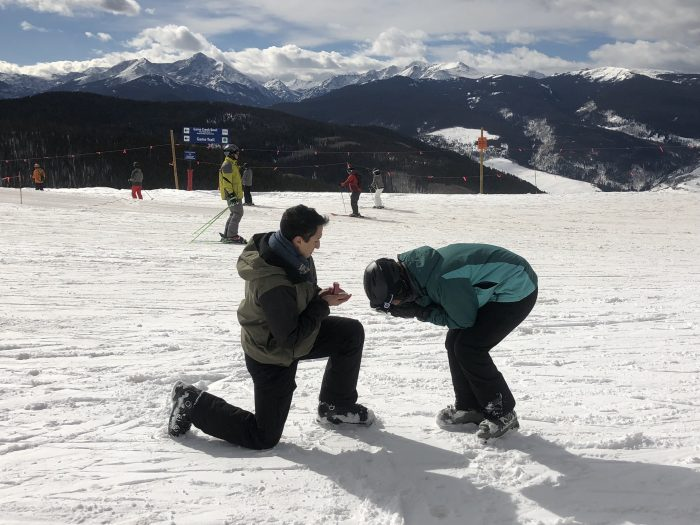 Engagement Proposal Ideas in Vail, Colorado