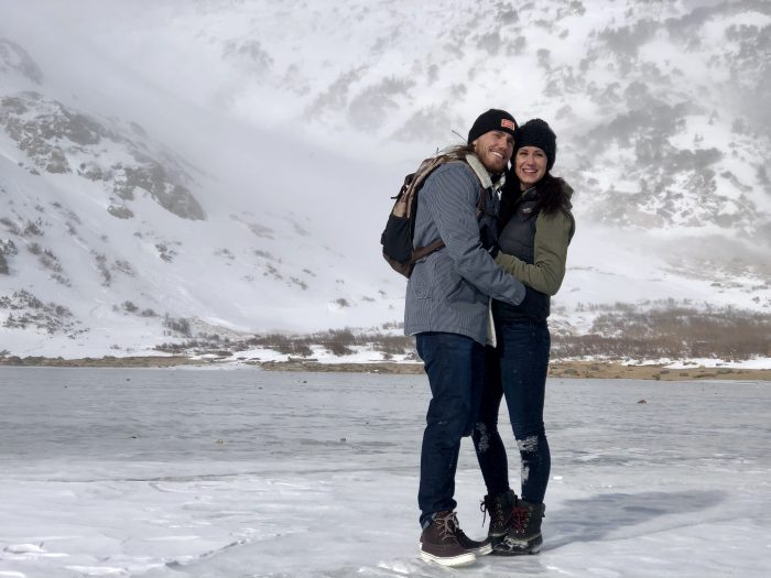 Engagement Proposal Ideas in St Mary's Glacier , Colorado