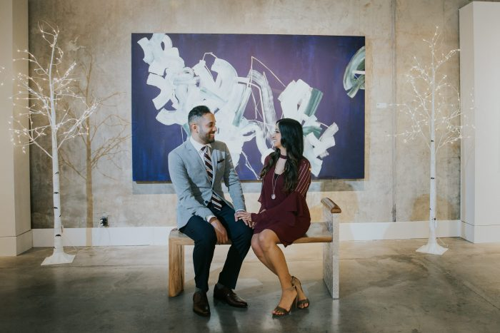 Shaheen and Amit's Engagement in Austin, Texas