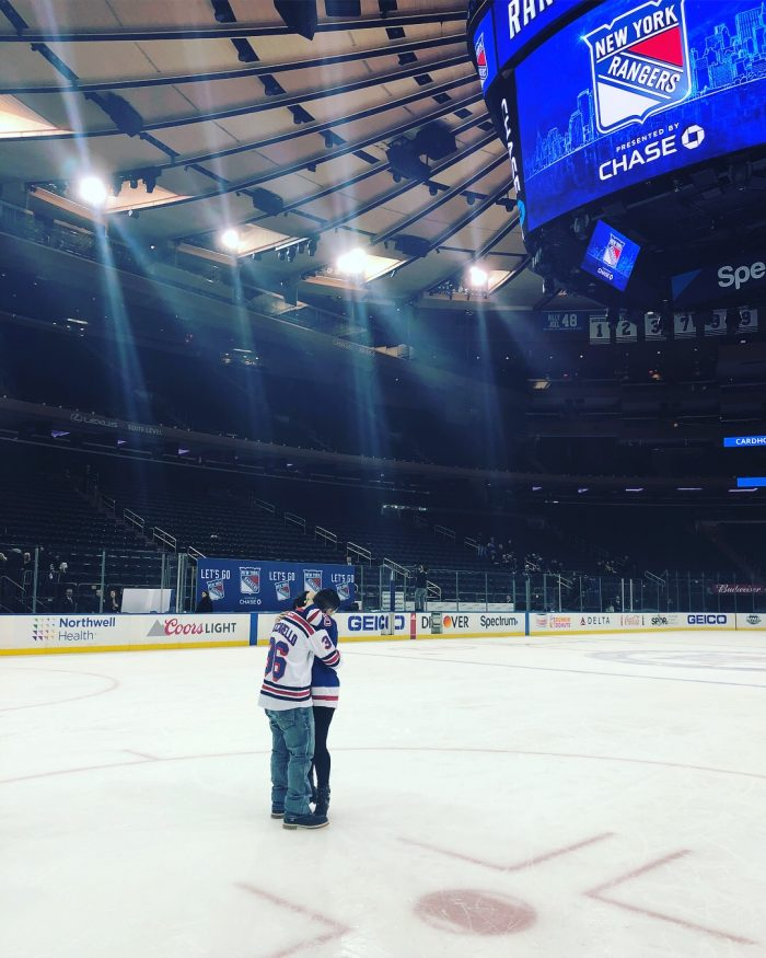 Brianna's Proposal in Madison Square Garden