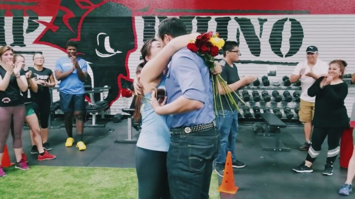 Where to Propose in Rhino CrossFit