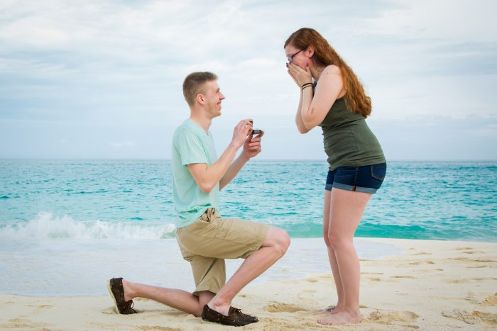 Lyndsey's Proposal in Paradise Island, Bahamas