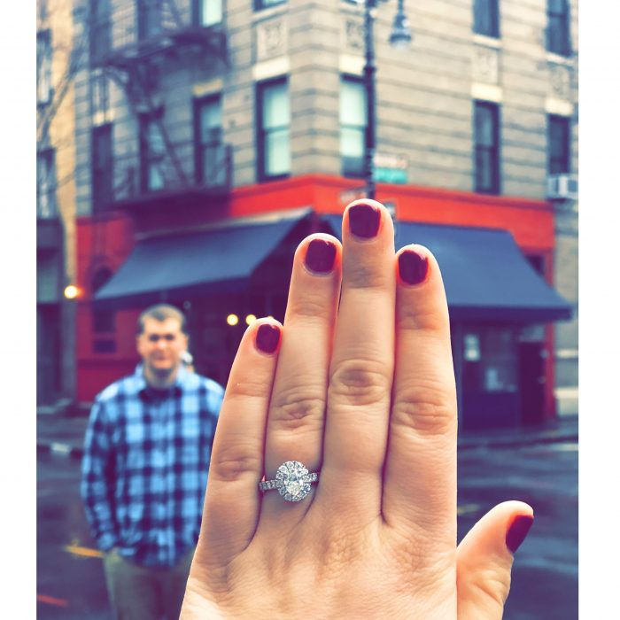 Molly's Proposal in New York