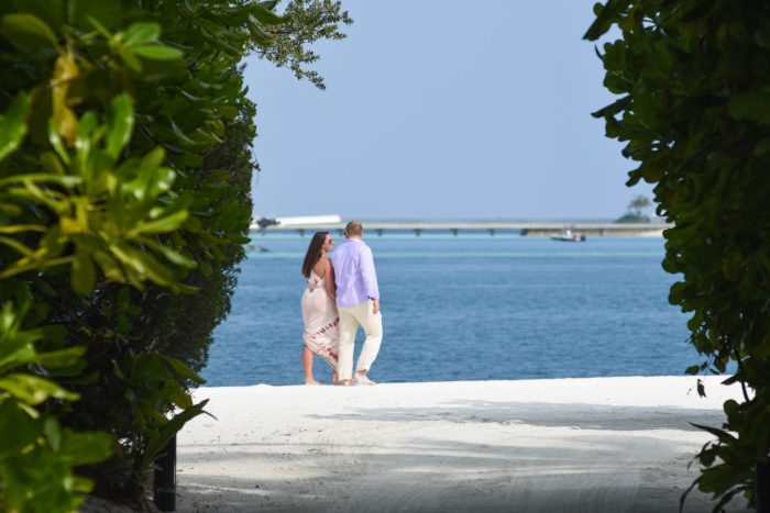 Katy's Proposal in The Maldives