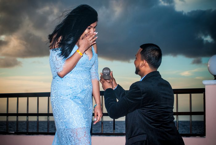Engagement Proposal Ideas in Cozumel, Mexico