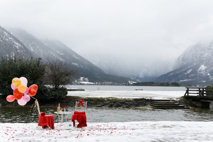 Wedding Proposal Ideas in Hallstatt, Austria