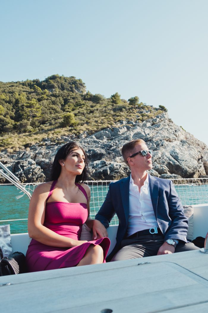 Carson and Shima's Engagement in Italy